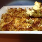 Crab Strata - Crabmeat, two kinds of cheese, capers and sherry bake up in a delicious breakfast strata. You can substitute apple juice for the sherry if you like.
