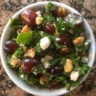Christie's Salad - If you like kale, you'll love it in a salad with feta cheese, walnuts, and grapes.