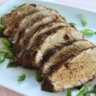 Chinese Pork Tenderloin - A delicious and easy to prepare marinade consisting of ingredients that can be easily found at a Chinese grocery store, including hoisin sauce, black bean sauce, and fresh ginger. Don't let the ingredients fool you, this is a meal that even the less adventurous will enjoy.
