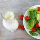 Creamy Italian Dressing I - Get your blender ready, this dressing is fabulous. Just the right proportions. It 's great on a salad with lots of hearty ingredients like pasta, garlic croutons and salami.