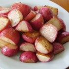 Sauteed Radishes - Radishes are sauteed with butter, salt, and pepper for a quick and easy side dish and a tasty way to use up extra radishes.
