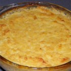 Corn Pudding IV - Fabulous Thanksgiving favorite. Rich, but worth every calorie! Give yourself some extra baking time just in case your oven varies. Can be halved (use 3 eggs).