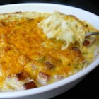 Chicken and Ham Casserole - An assemblage of leftover chicken and ham, some noodles and vegetables, a little cheese--just about whatever you have on hand will work in this casserole.