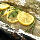 Steamed Walleye (Pickerel) on the Grill - For the health conscious, this twist on the classic variation is definitely more acceptable.  Tender and delish.