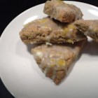 Vegan Lemon Scones with Chia - This is a foolproof vegan lemon scone recipe, using chia seeds for texture.