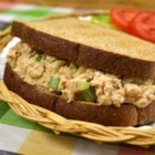 Spicy Chipotle Tuna - Let canned chipotle peppers in adobo sauce bring a different flavor profile to wake up your tuna salad.