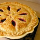 Raspberry Pie III - Four cups of fresh raspberries and a hint of cinnamon are inside this incredible double-crust pie.