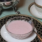 Spring Tea Strawberry Soup - Make this fruity and refreshing strawberry soup in mere minutes for your next tea party.