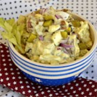 Potato Salad - Quick and easy potato salad recipe with a lot of old-fashioned potato salad flavor. This will become a go-to summer side dish recipe.