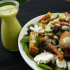 Sour Cream Dressing - A great creamy salad dressing with  a touch of sweetness and a hint of mustard and garlic. It whisks up beautifully and the flavors improve with chilling. Try it on a salad or use as a dressing for your favorite sliced chicken sandwich.