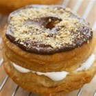 S'mores Crescent Doughnuts - Enjoy the classic flavor of s'mores with these flaky doughnuts made with Pillsbury(R) crescent dinner rolls.
