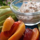 Healthy Peanut Butter Fruit Dip - Peanut butter, honey, and yogurt are combined making a kid-pleasing dip perfect for apples.