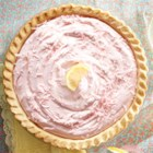 Pink Lemonade Pie from EAGLE BRAND(R) - Whip up a lovely pink lemonade pie topped with pink-tinted coconut with just a few simple pantry ingredients. This chilled pie makes a perfect summertime dessert.