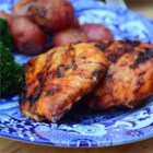 Good Frickin' Paprika Chicken - A delicious yogurt and paprika marinated grilled chicken.