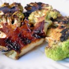 Grilled Cauliflower - Cut your head of cauliflower into slices and grill like steaks seasoned with seasoned salt and brown sugar for a new item for grilling season.