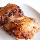 Tandoori Chicken II - A paste made from a combination of spices and dried peppers is the secret to this spicy grilled chicken recipe. No long marinating time is required; the chicken can be prepared in the time it takes to get the coals hot.