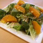 Orange Vinaigrette - Sweet, vinegary and delicious. Honey, orange juice and Dijon mustard are shaken with a good balsamic vinegar until well combined. Chill and serve over a simple green salad or splash onto warm asparagus.