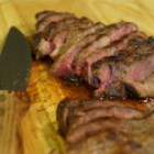 Flat Iron Steak Simplicity! - This cut is very tender yet easily prepared on the grill!  Served best with fresh baked potatoes.