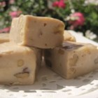 Boardwalk Quality Maple Walnut Fudge - White chocolate is melted with sweetened condensed milk to make this classic maple-flavored treat.
