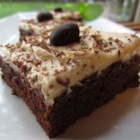 Mocha Brownies with Coffee Frosting - Moist and very chocolaty brownies have a coffee frosting for a sophisticated version of the beloved treat.
