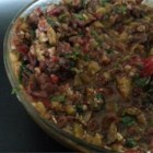 Kalamata Olive Tapenade - An olive tapenade without anchovies.
