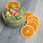 Fruit Salsa - Like a cool breeze on a hot summer day at the beach, this flavorful fruit salsa is zesty and refreshing! Serve it with tortilla chips.