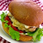 Basil Turkey Burgers - Try these turkey burgers with basil, horseradish, onion, and soy sauce next time you decide to cook on the grill.