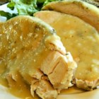 Roasted Turkey Breast With Herbs - Whether you prefer light meat, want a smaller holiday meal, or just want something delicious and easy, you'll love this recipe for a roasted herb-scented turkey breast.