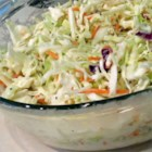 Nana's Southern Coleslaw - A vintage recipe for coleslaw handed down through the family is similar to the one from that famous chain of chicken restaurants. Mayonnaise and buttermilk make the dressing creamy and tangy.