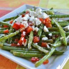 Arica's Green Beans and Feta - This green bean side dish delivers a fresh flavor with feta cheese as an accent.