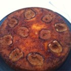 Fig Cake I - An iced cake loaded with spices and fresh figs.