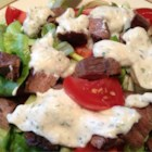 Bob's Blue Cheese Dressing - Prepare a flavorful summer salad by serving this dressing over mixed mesclun greens, hearts of romaine, sliced cucumber, tomato and red onion.