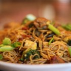 Chinese Noodle Chicken - Chicken and an abundance of vegetables are tossed with noodles and teriyaki sauce in this tasty fare.