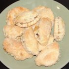 Nut Horns - This cookie recipe is so good!  It is a mixture of walnuts rolled in a sweet yeast dough.