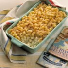 Baked Mac and Cheese with Sour Cream and Cottage Cheese - Baked macaroni is made extra creamy with the addition of sour cream and cottage cheese for a rich meal the whole family will enjoy.