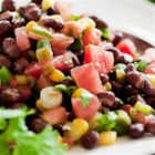 Becel® Corn & Black Bean Salad - To make the texture more interesting, use corn kernels cut from freshly steamed cobs and plump home-cooked black beans.