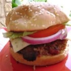 Teriyaki Onion Burgers - This is a fast, simple recipe for hamburgers that have a special flavor.