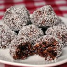 Nan May's Snowballs - These no-bake cookies are filled with oats and coconut.