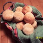 Double Quick Dinner Rolls - Muffin tins take some of the work out of these light and flaky dinner rolls made with instant potatoes and onion.