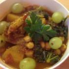 Moroccan Chickpea Stew - Despite the long ingredient list, this is a fairly simple, flavorful, stew that can be adapted to use whatever vegetables you have on hand.