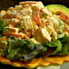 Kiki's Mexican Chicken Salad - I have many favorite chicken salad recipes, but my family and friends love spicy food.  That's when this salad fits the bill. Serve it as a side dish at BBQs or as an entree on a busy night after work.