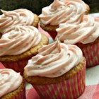 REALLY Real Strawberry Cupcakes - These all-natural strawberry cupcakes are made from scratch with cake flour, whole milk, and unsalted butter. Recipe yields 20 standard or 72 mini cupcakes.