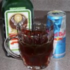 Jager Bomb - A delicious blend of Jagermeister and Red Bull(R) Energy Drink.