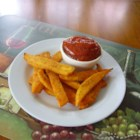 Easy Spicy Ketchup Dip for Sweet Potato Fries - Spice up your ketchup with horseradish and cayenne pepper for a nice dipping sauce for sweet potato fries.