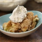 Tiffany's Apple Crisp - A family favorite, this apple crisp with a rolled-oats and nut topping can be served warm with ice cream, and clean-up is a snap!