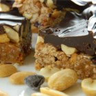 Babe Ruth Bars II - Chewy and sweet bars with the flavors of peanut butter and chocolate.
