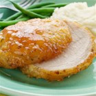 Apricot Glazed Pork - Hidden Valley(R) The Original Ranch(R) Dressing gives this sweet and savory pork recipe a new twist.