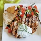 Big Ray's Greek Grilled Catfish Recipe - Greek-seasoned catfish rolled around feta cheese and mint is a delicious idea for grilling season, especially if your grilling season is year-round.