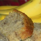 Sour Cream Banana Bread - Sour cream and 4 bananas make this loaf of banana bread moist and flavorful. It freezes well, too.
