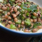 Babi's Bean Salad - This heavenly black-eyed pea salad has a slight Middle Eastern accent and gets a citrus kick from fresh orange and lemon juice.